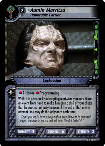 Pagh 3R206 Star Trek CCG 2E Call To Arms I.K.S