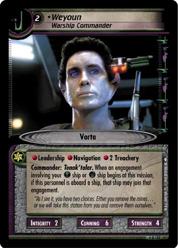 Weyoun (Warship Commander)