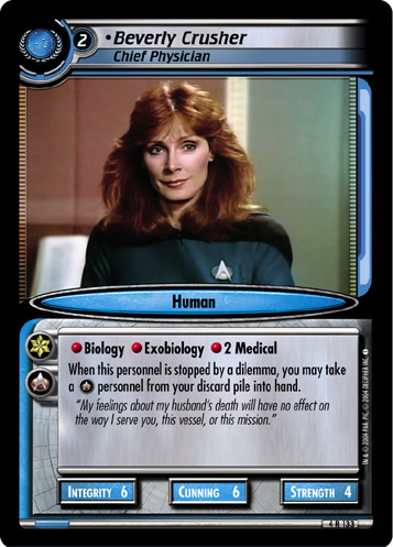 Beverly Crusher (Chief Physician)