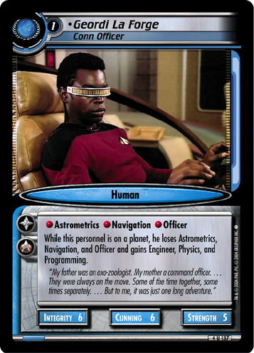 Geordi La Forge (Conn Officer)