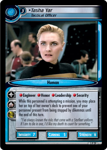 Tasha Yar (Tactical Officer)