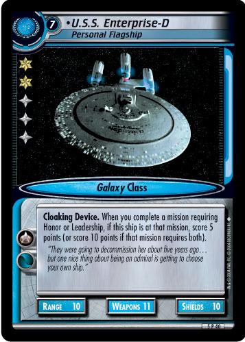 U.S.S. Enterprise-D (Personal Flagship)