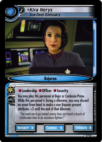 Kira Nerys (Starfleet Emissary)