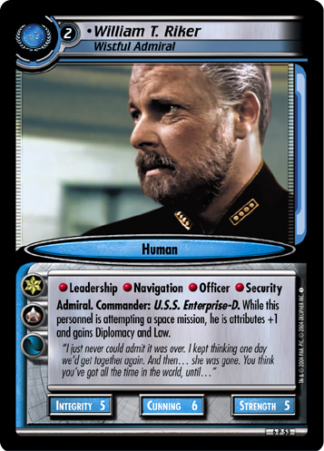 William T. Riker (Wistful Admiral)