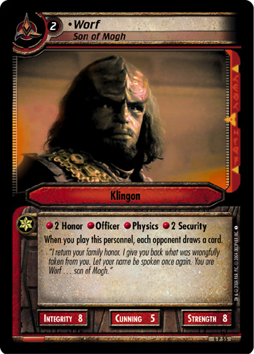 Worf (Son of Mogh)