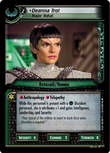 Deanna Troi (Major Rakal)