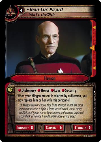 Jean-Luc Picard (Worf's cha'Dich)