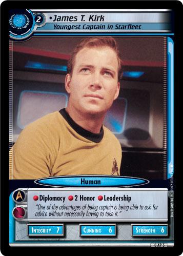 James T. Kirk (Youngest Captain in Starfleet)