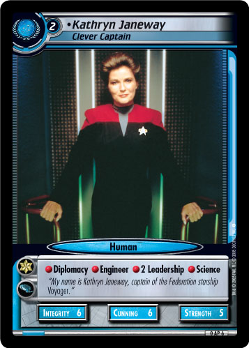 Kathryn Janeway (Clever Captain)