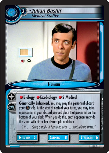 Julian Bashir (Medical Staffer)