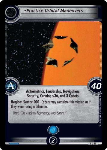 Practice Orbital Maneuvers