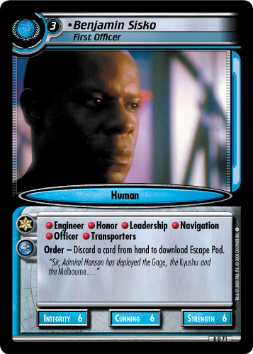 Benjamin Sisko (First Officer)