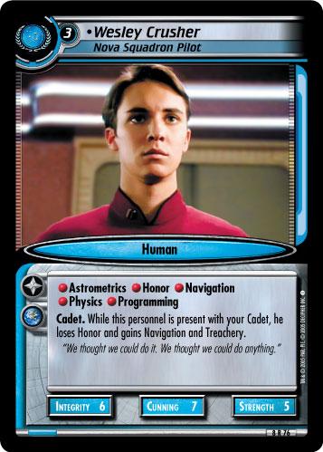 Wesley Crusher (Nova Squadron Pilot)
