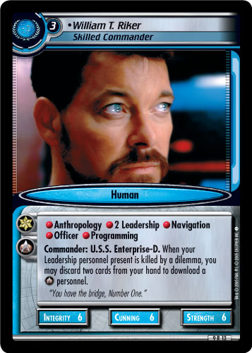 William T. Riker (Skilled Commander)