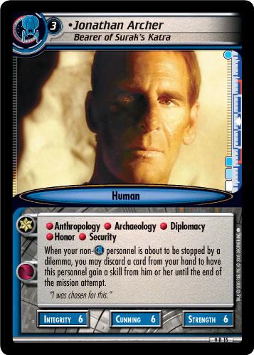 Jonathan Archer (Bearer of Surak's Katra)