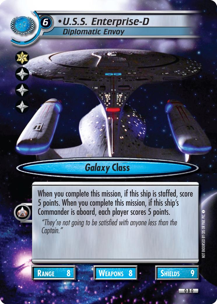 U.S.S. Enterprise-D (Diplomatic Envoy)