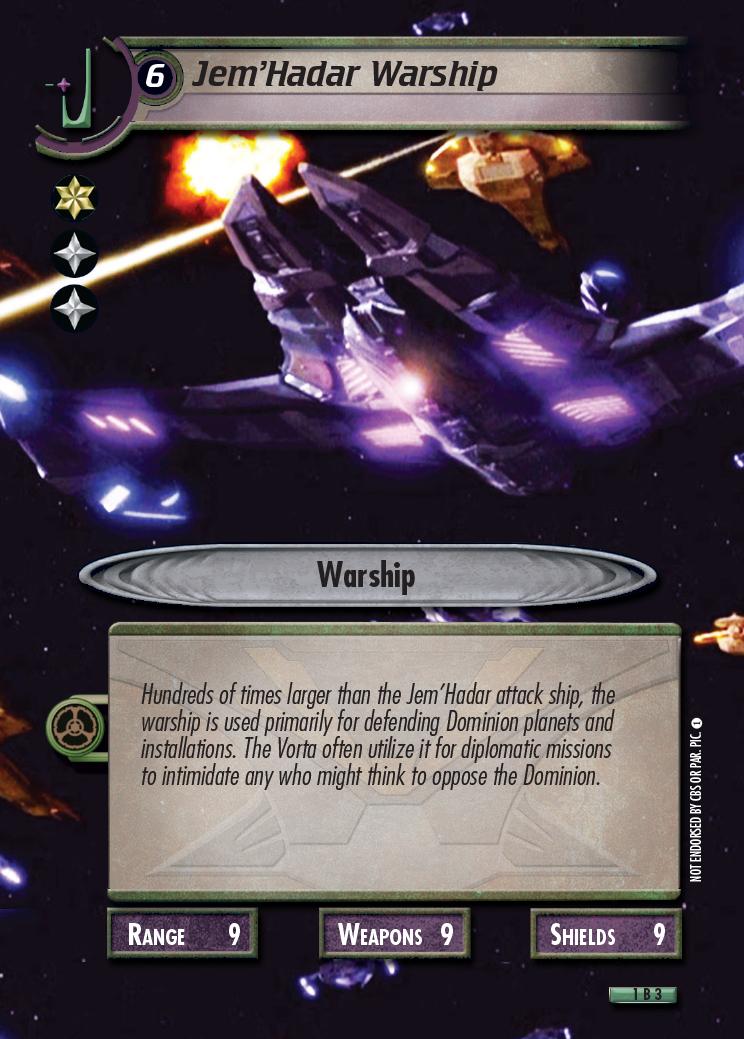 Jem'Hadar Warship