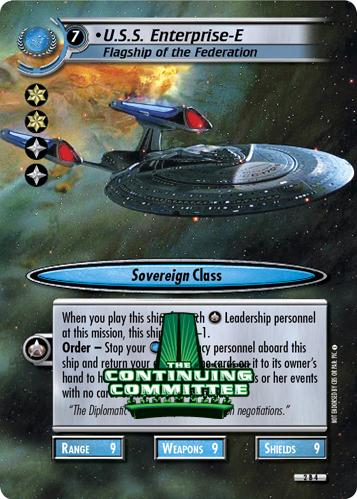 U.S.S. Enterprise-E (Flagship of the Federation)