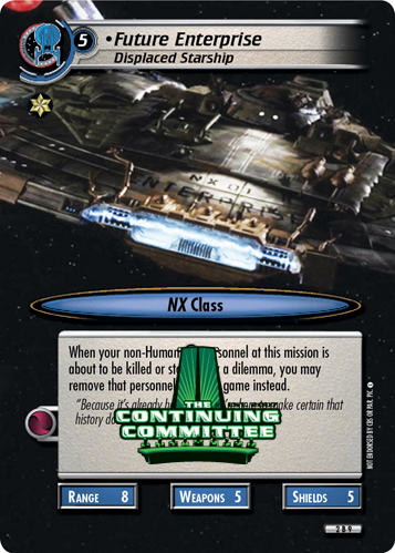 Future Enterprise (Displaced Starship)