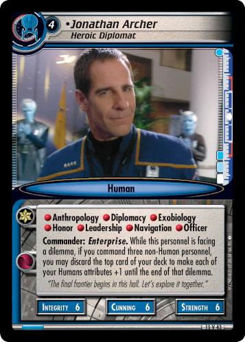 Jonathan Archer (Heroic Diplomat)