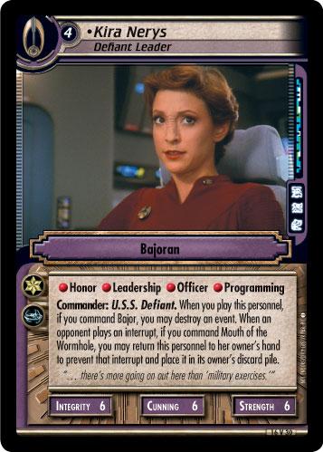 Kira Nerys (Defiant Leader)