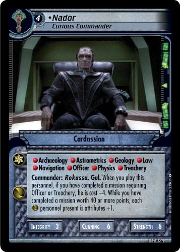 Nador (Curious Commander)