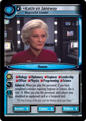 Kathryn Janeway (Regretful Leader)