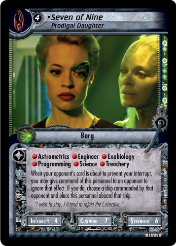 Seven of Nine (Prodigal Daughter)