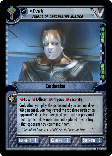 Evek (Agent of Cardassian Justice)