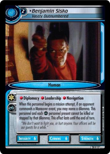 Benjamin Sisko (Vastly Outnumbered)