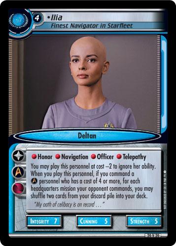 Ilia (Finest Navigator in Starfleet)