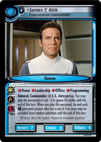 James T. Kirk (Experienced Commander)