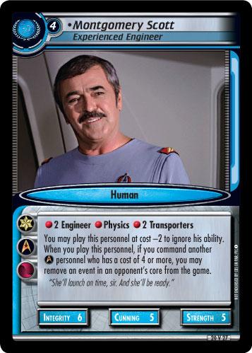 Montgomery Scott (Experienced Engineer)