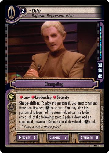 Odo (Bajoran Representative)