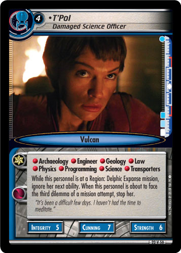 T'Pol (Damaged Science Officer)