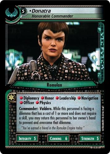 Donatra (Honorable Commander)