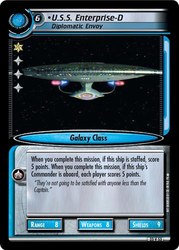 U.S.S. Enterprise-D, Diplomatic Envoy
