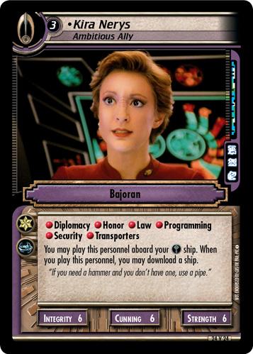 Kira Nerys (Ambitious Ally)