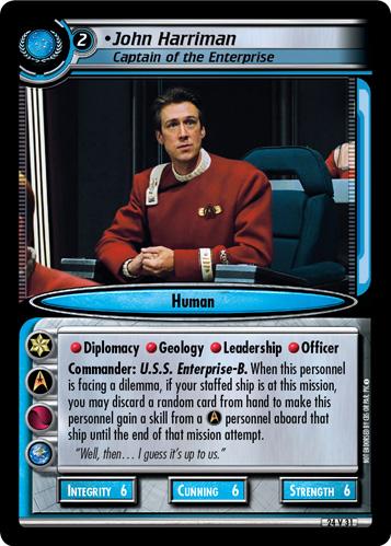 John Harriman (Captain of the Enterprise)