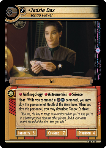 Jadzia Dax (Tongo Player)