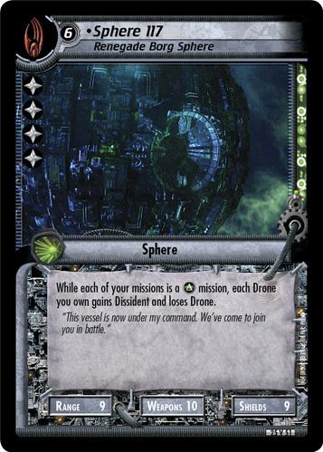 Sphere 117 (Renegade Borg Sphere)