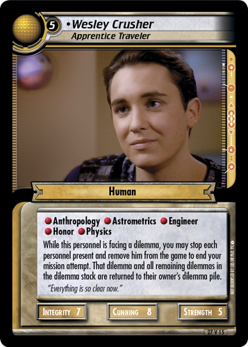Wesley Crusher (Apprentice Traveler)
