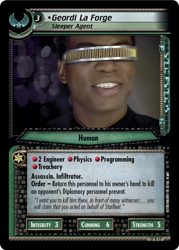 Geordi La Forge (Sleeper Agent)