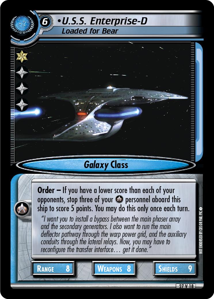 U.S.S. Enterprise-D (Loaded for Bear)