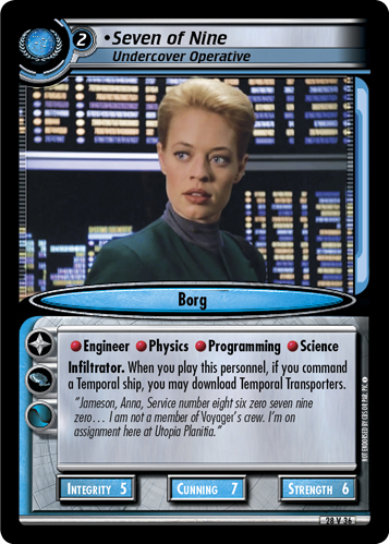 Seven of Nine (Undercover Operative)