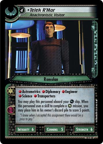 Telek R'Mor (Anachronistic Visitor)