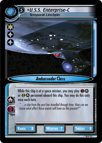 U.S.S. Enterprise-C (Temporal Linchpin)