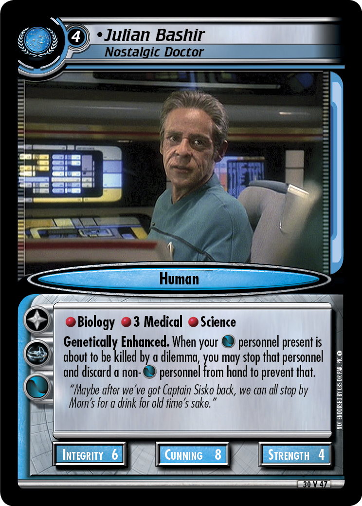 Julian Bashir (Nostalgic Doctor)
