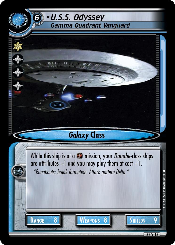 U.S.S. Odyssey (Gamma Quadrant Vanguard)