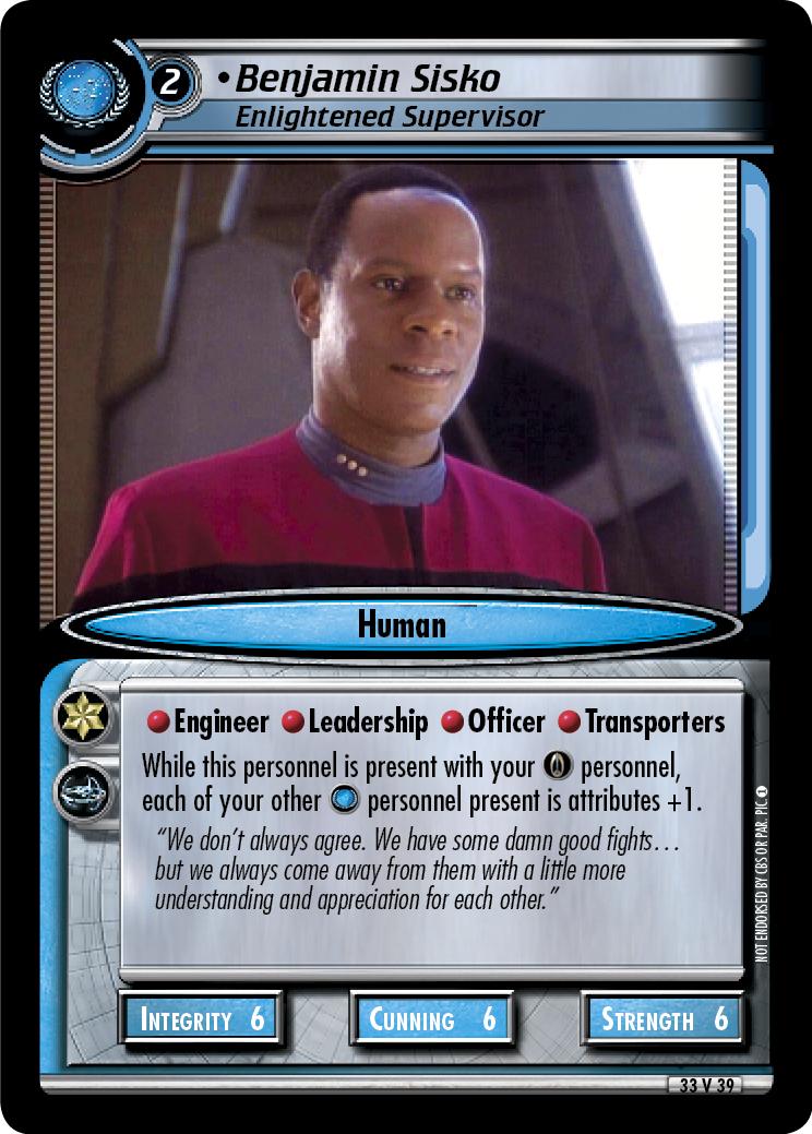 Benjamin Sisko (Enlightened Supervisor)